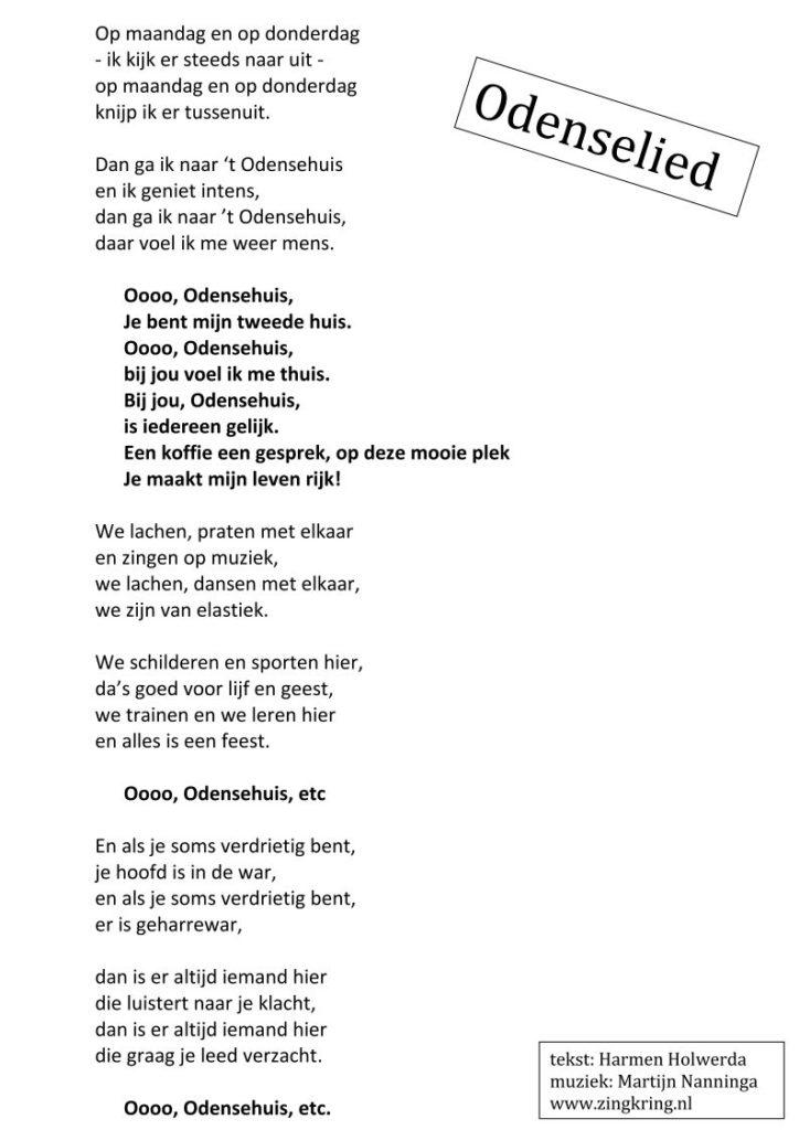 Odenselied Culemborg - Harmen Holwerda