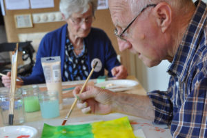 Odensehuis Culemborg workshop schilderen