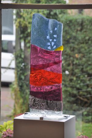 Glassculptuur-Canto-Ostinato-geschenk-Mirjam-Beuker
