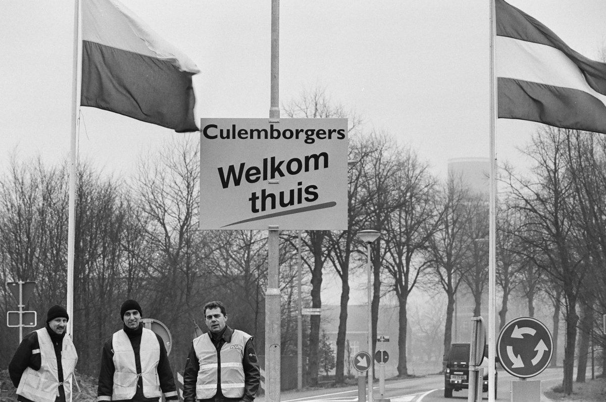 Evacuatie 1995: de thuiskomst © William Hoogteyling