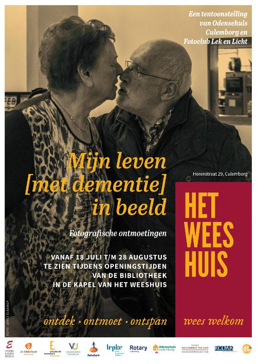 Affiche Mijn leven met dementie in beeld Odensehuis